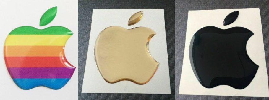 Apple 3D stickers