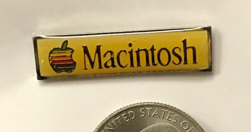 Pin's Apple Macintosh