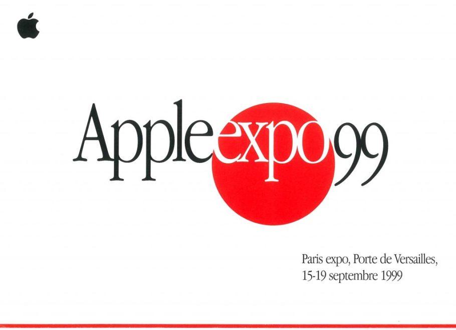 Invitation Apple Expo 1999