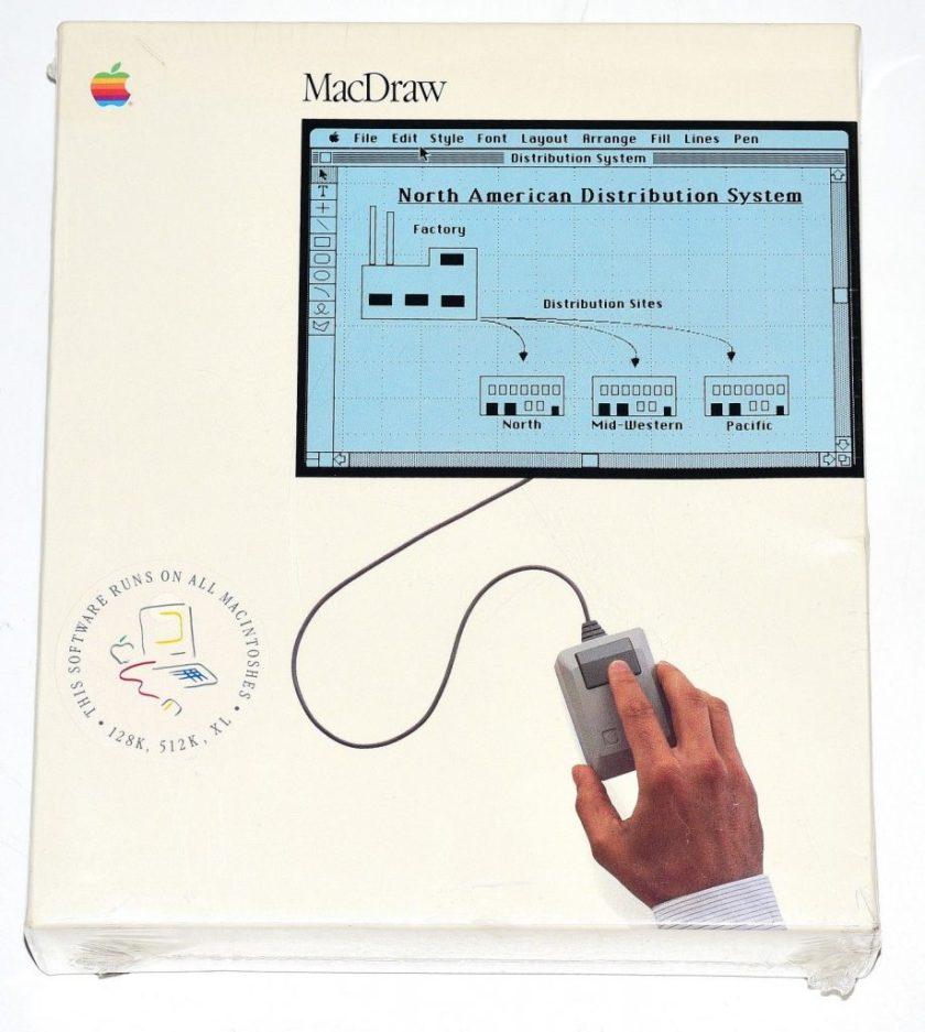 Apple MacDraw Sealed Box