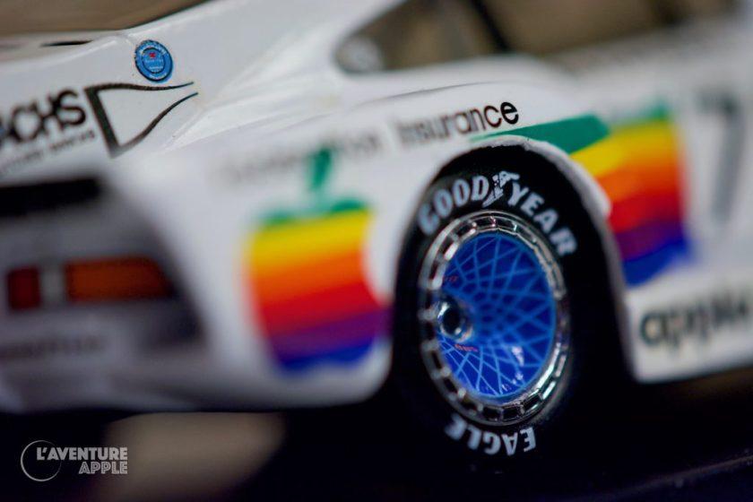 """Résultat de recherche d'images pour """"quartzo 1/43 porsche apple"""" 1/43 Porsche 935 K3 - Apple Computer - Quartzo"""