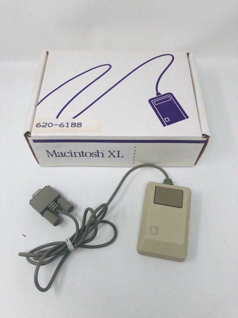 Macintosh XL Mouse box