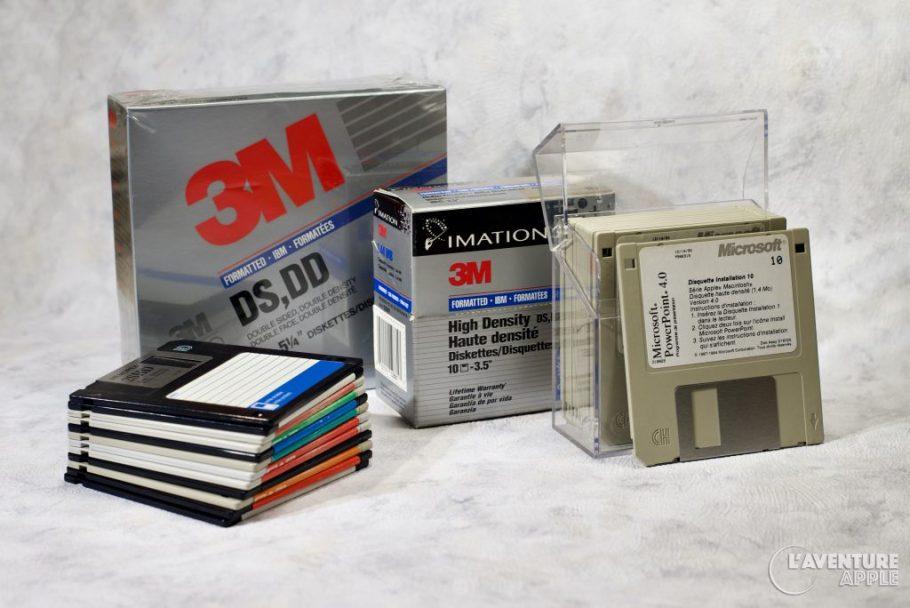 PC disquettes
