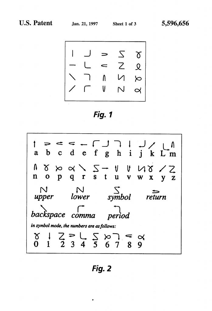 US5596656A patent Xerox