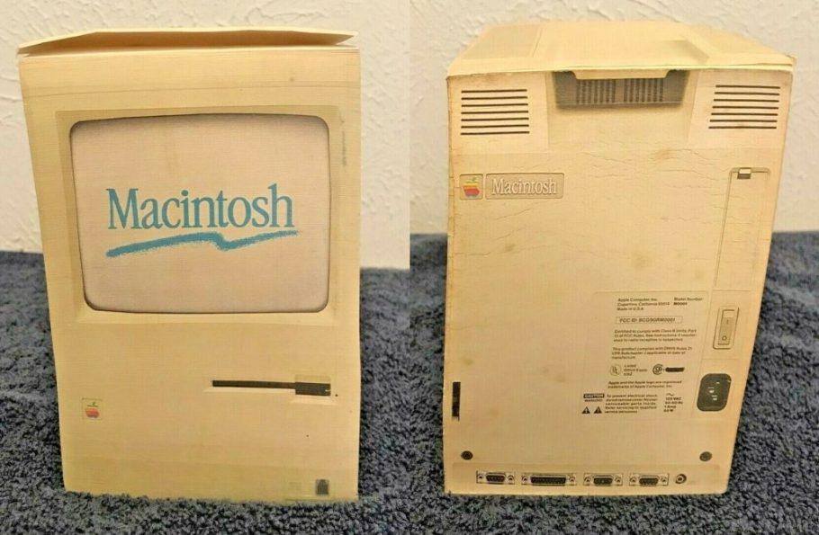 Bloc-note du Macintosh 128 de 1984