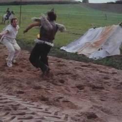 Combat a terre