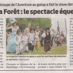 Zoom sur Article Presse Océan 23 juillet 2015