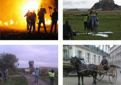 Tournages de films avec nos chevaux pour le cinéma et la télévision - Spectacle équestre Aventure au galop