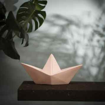 Lampe Paper Boat rose - Goodnight Light - 41€