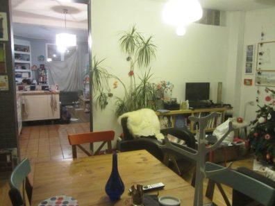 11 salle a manger salon et vue traversante cuisine