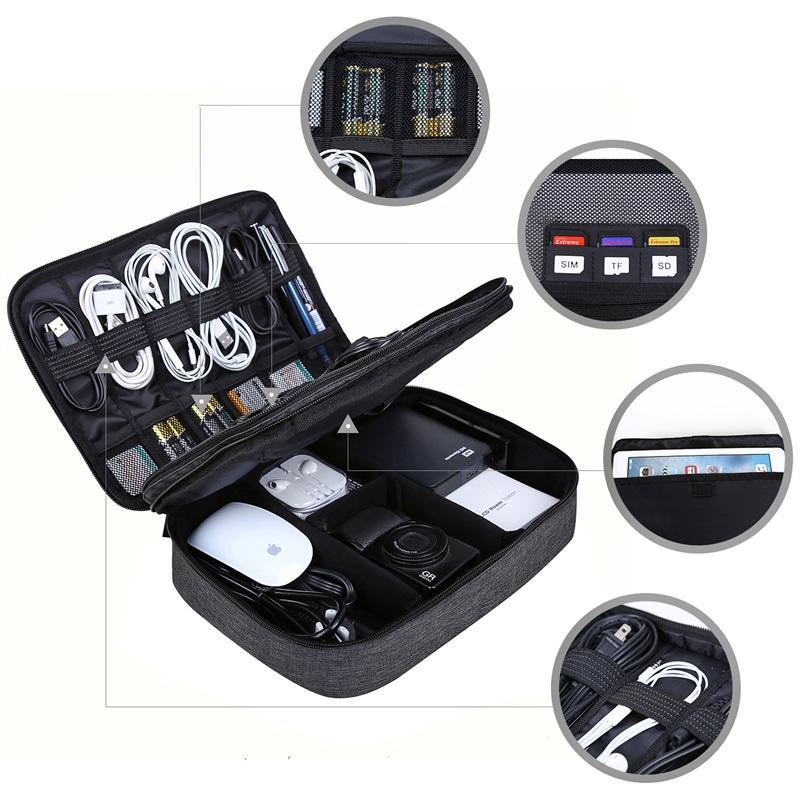 malette pour câble et matériel digital