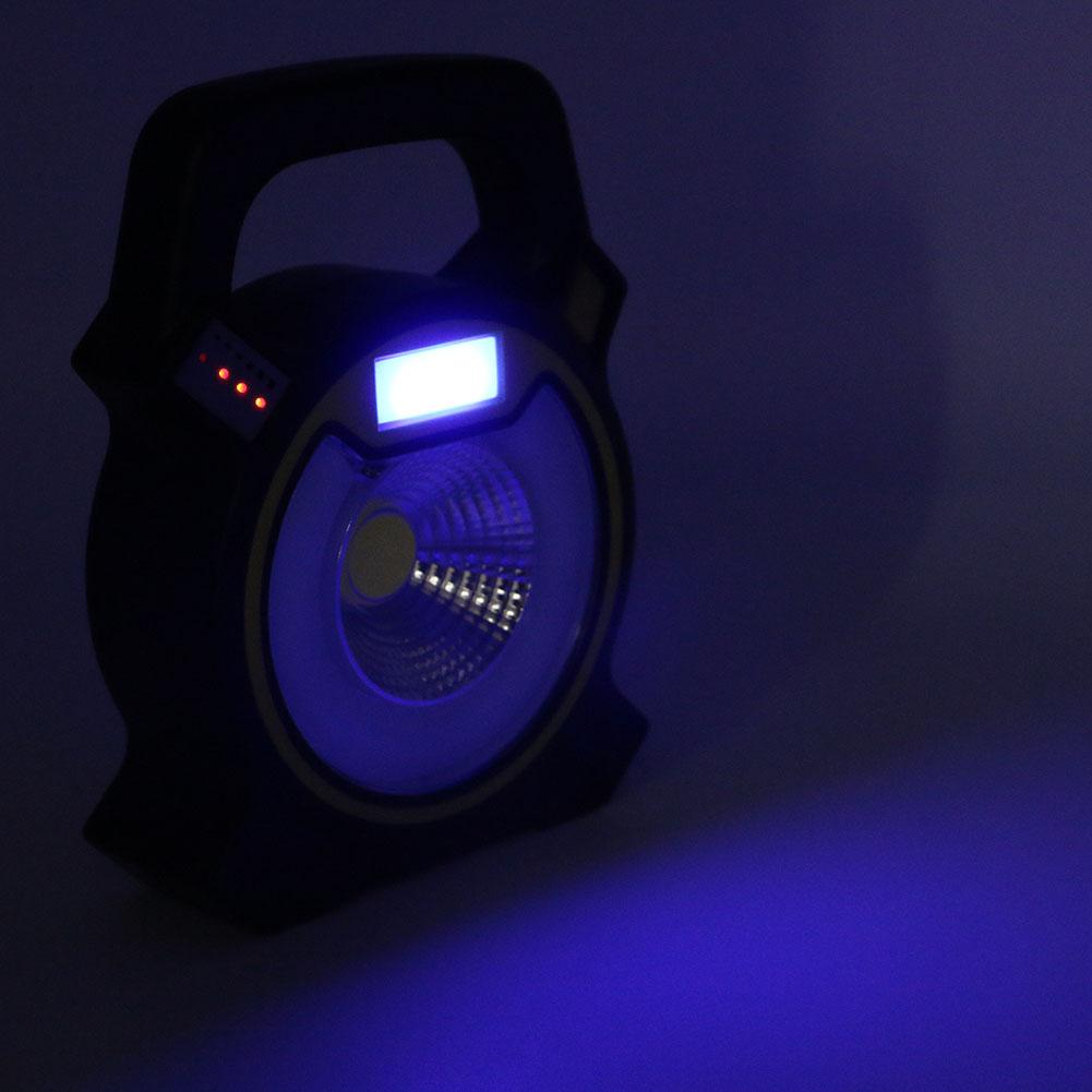 éclairage bleu