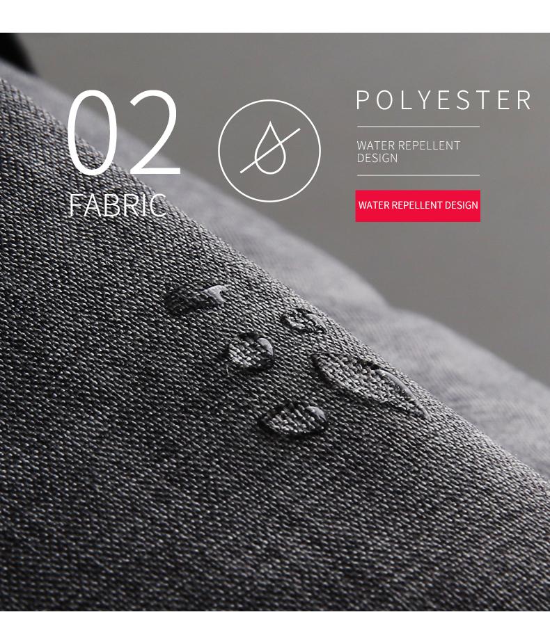 matière polyester waterproof