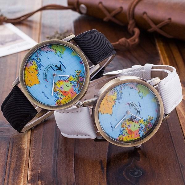 montre de globe-trotteur