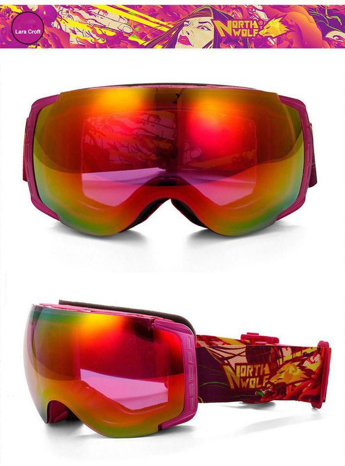 lunette snowboard lara croft