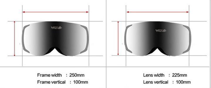taille des lentilles