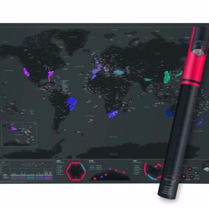 carte globe-trotteur