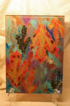 "Melrose, ""Batik Coral"", 2012, 24,5 x 33 cm."