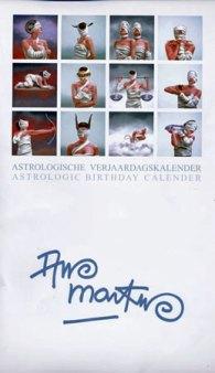 Ans Markus, speciale Kalender met Sterrenbeelden.