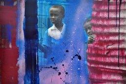 """Maartje Punt, fotografie, """"Search and find"""", paneel totaal 97 x 71 cm."""