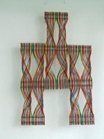 Rita Kok - weefkunst, Nr.12, hangend.