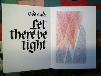 Het begin: grote letters en het scheiden van het licht