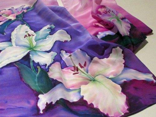 """Jadwiga Dziki-Gnyszka, """"Zijden shawl"""", nr.020."""