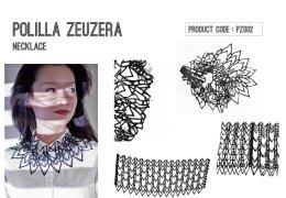 Jelka Quintelier, diverse sieraden uit de serie 'Black Lune', rubber.