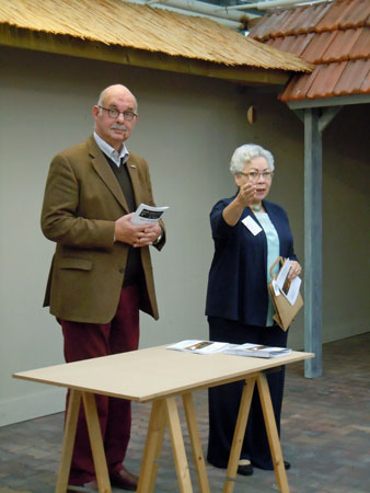 Albertjan Peters en Margriet Pleiter