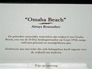 """Candida van Nugteren, tekst bij """"Omaha Beach""""."""