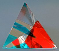 Tetraeder-blauw-oranje