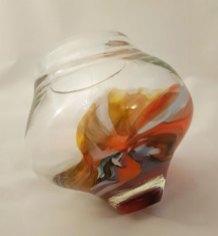 Conical Pot - geblazen en gerecycled glas hoog 18 cm