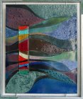 Kleurrijk Land - emaille - 47 x 57 cm