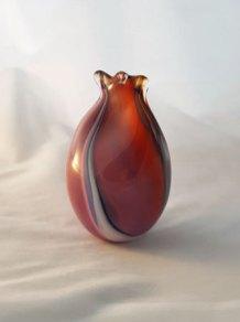 Artistic Offering - geblazen en gerecycled glas hoog 14 cm