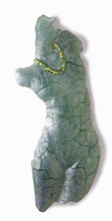 Firefly, cast marbrietglass, 103 x 40 x 9 cm.