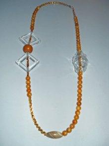Yellow Beauty, Copal-kraal, Baltic Amber kralen, antieke agaat, handgeblazen grote glaskraal, glaskraaltjes.