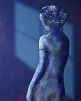 Blauw-naakt