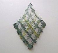 Gordijnkoord 19-07-14 , dubbel weefsel gesplitst, 40 x 50 cm.