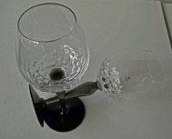 Into the woods - Maleras - Sweden; witte wijnglazen, crystal, handmade.