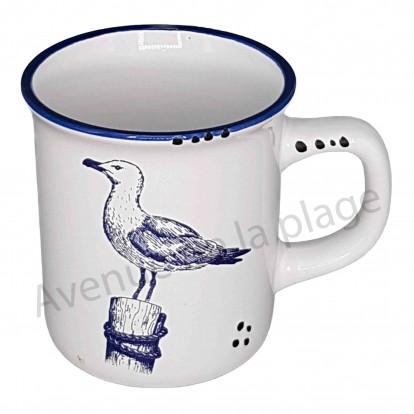 mug us mouette sur piquet