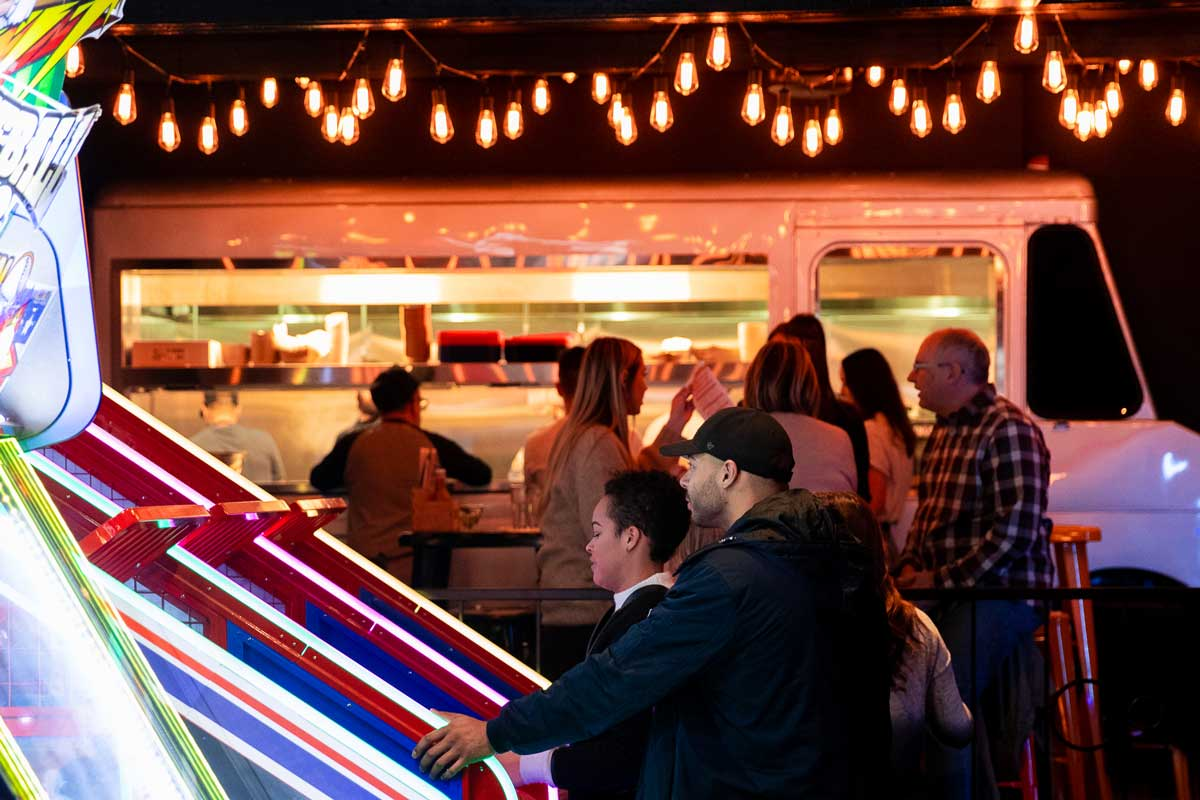What to Expect at Greta the New Arcade and Bar in the