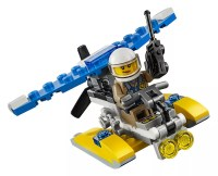 LEGO City 30359 pas cher - Police Water Plane (Polybag)