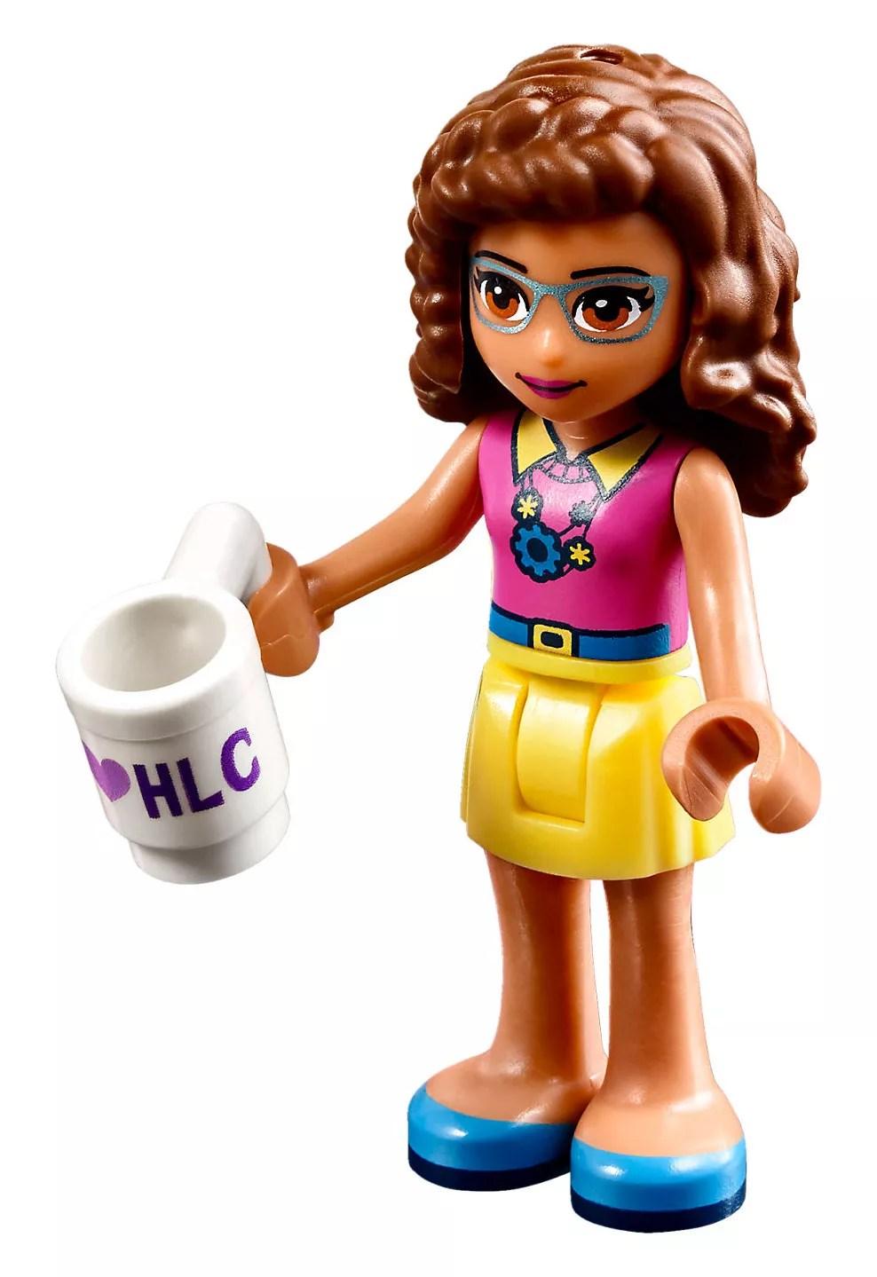 LEGO Friends 41329 pas cher La chambre labo dOlivia