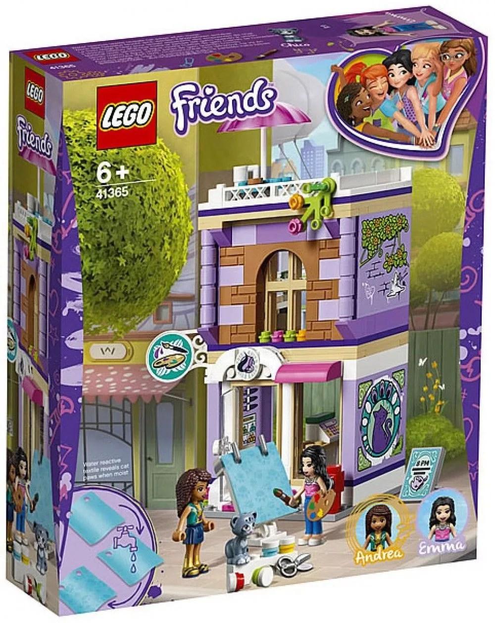 Aperu Des Nouveaux LEGO Friends De 2019