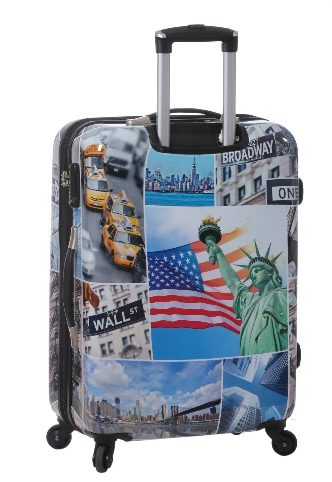 valise rigide 70 cm new york