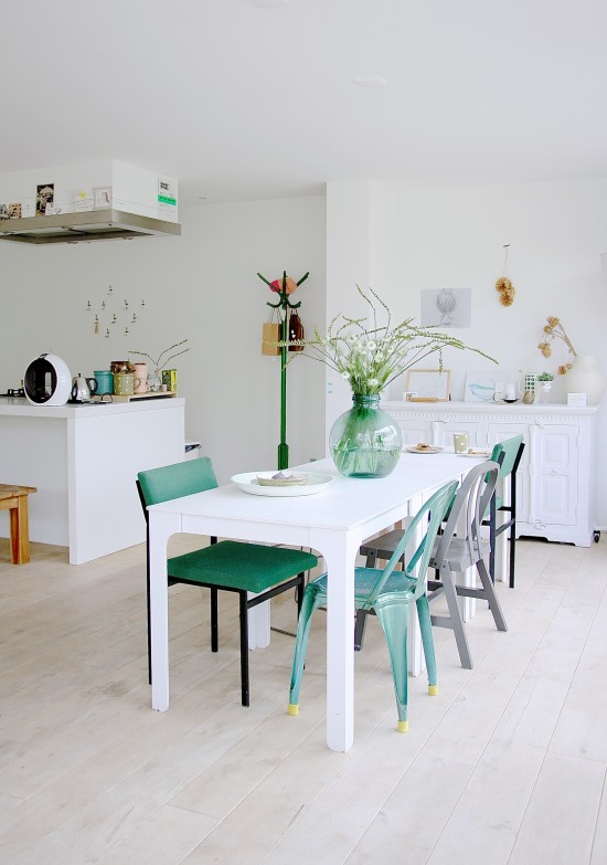 Inside Scoop Fresh and Colourful Dutch Family Home