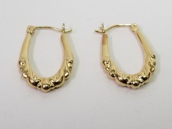 Karat Yellow Gold Hoop Earrings Avenue Swap & Sell