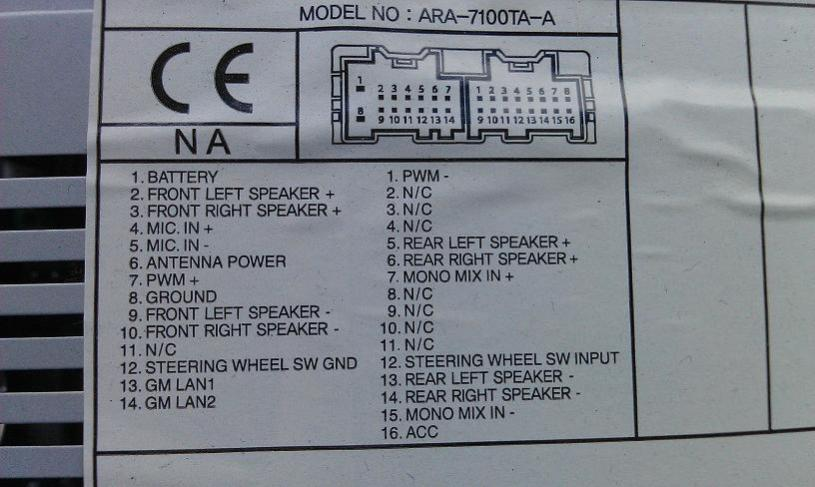 Chevy Radio Wiring Color Codes Engine Schematics And Wiring Diagrams