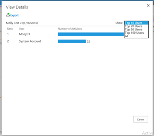 End User SharePoint Reporting in DocAve 6 Service Pack 5