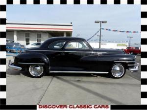 1946 Two door, 3 passenger
